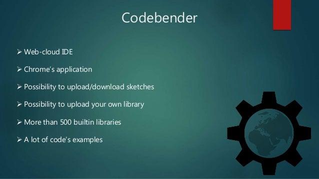 Genuino and codebender