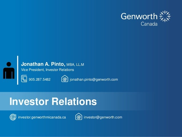 Genworth canada investor-presentation-june2016