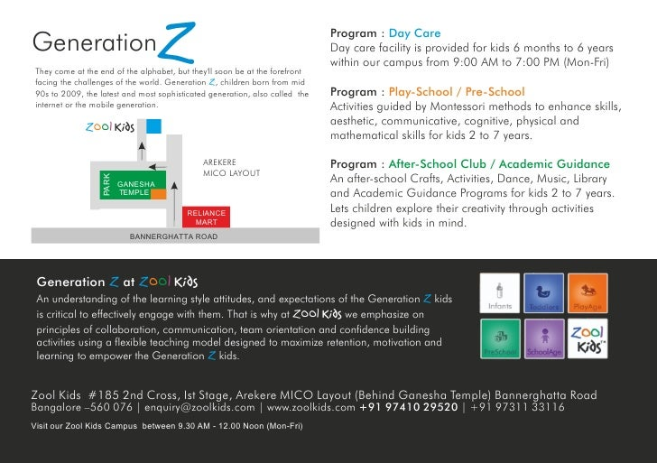 Generation                          Z  They come at the end of the alphabet, but they'll soon be at the forefront  facing ...