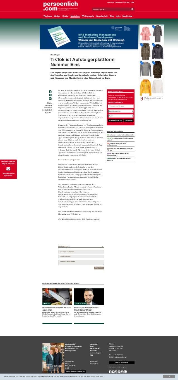 Newsletter | Mediadaten | Kontakt | Login Werbung Medien Digital Marketing PR/Corporate Gesellschaft Blog Jobs Marktplatz ...