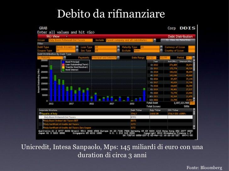 Perché il rating è importante/         I money market funds          money market funds•   Funzione di dare liquidità al s...