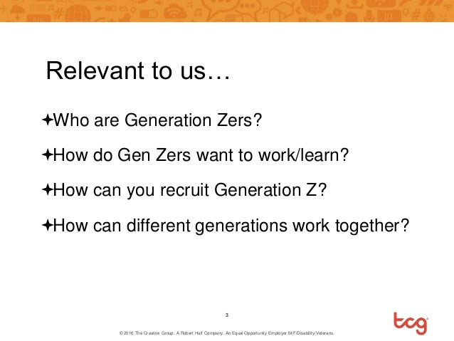 Generation Z Slide 3