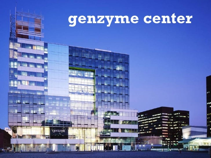 Genzyme New Building