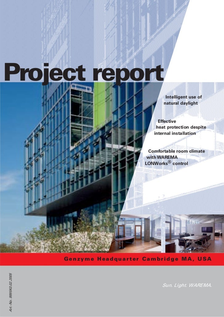 Project report                                                      Intelligent use of                                    ...