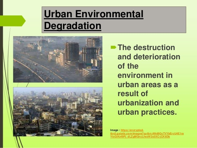 the effects of the environmental degradation as a result of overpopulation From recent studies we know that overpopulation do affects our environment it  frequently causes many types of pollution such as water pollution,air pollution.
