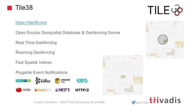 Location Analytics - Real Time Geofencing using Apache Kafka