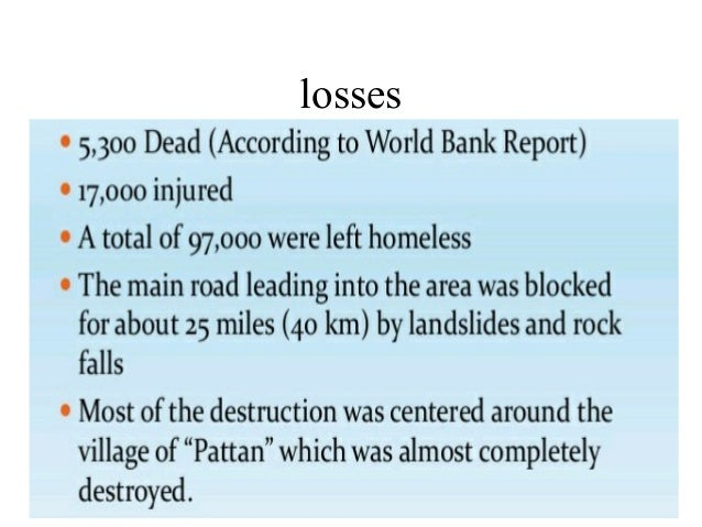 earthquake in pakistan essay Pakistan is one of the most seismically active countries in the world, being crossed by several major faults as a result, earthquakes in pakistan occur often and are.