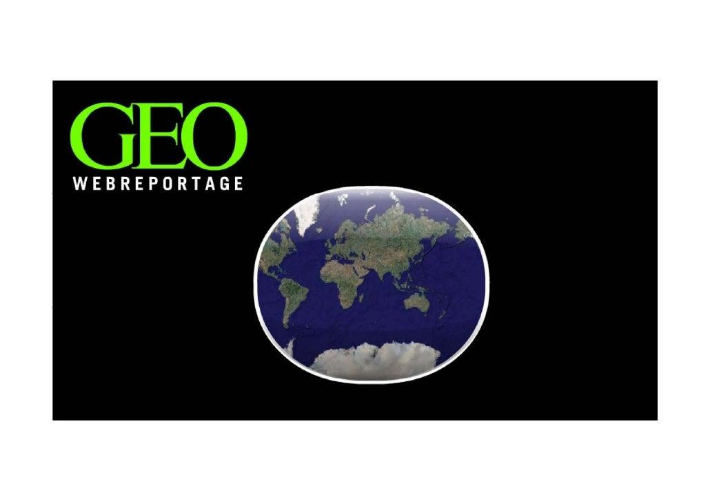 Geo Webreportage