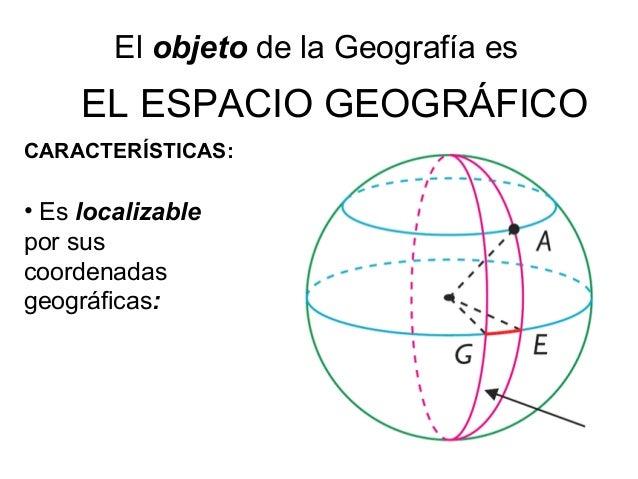 espacio geografico y procedimientos geograficos