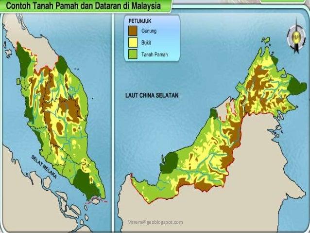 Geografi Tingkatan 1 Bentuk Mukabumi Tanah Pamah