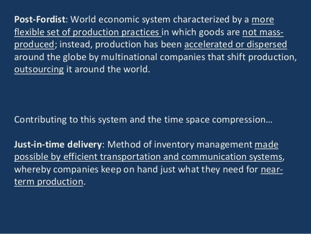 key elements of fordism Sociology index fordism fordism refers to the system of mass production pioneered by henry ford to meet the needs of a mass market henry ford pioneered assembly.