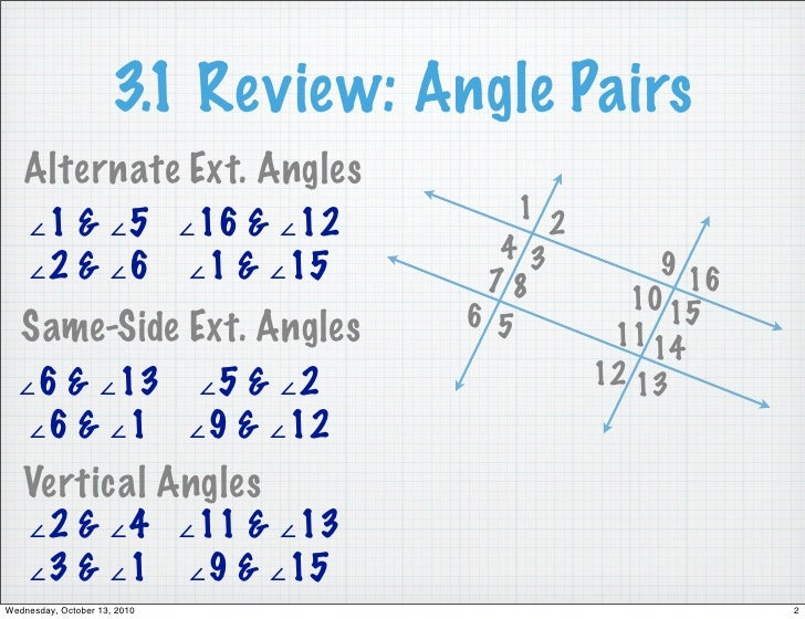 Geo 3 2 Notes Parallel Converse