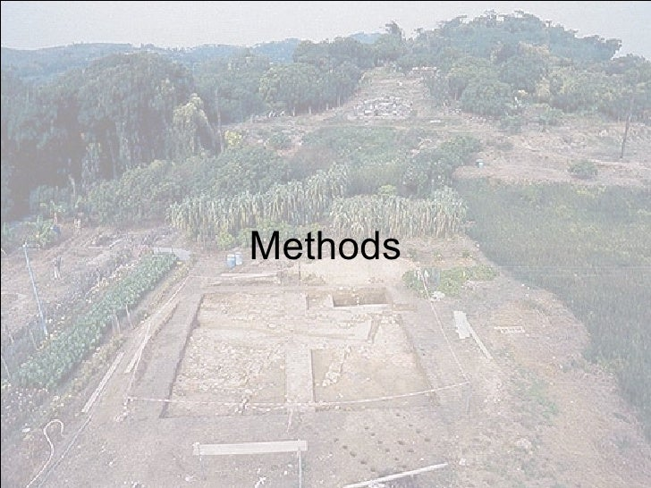 Geoarchaeology Developing A Method For Provenancing Of