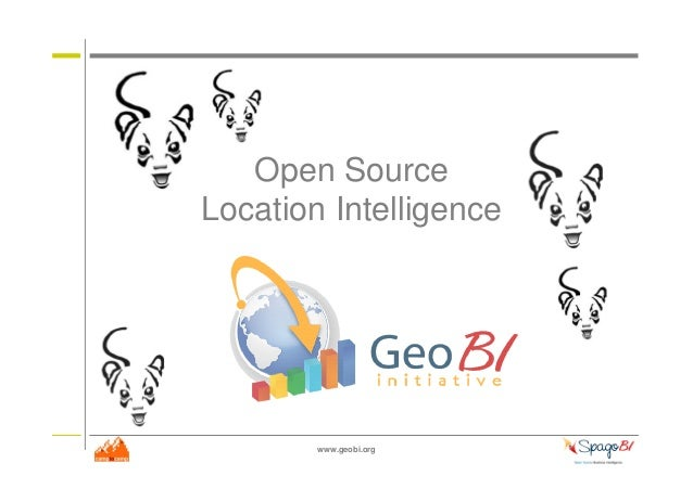 www.geobi.org Open Source Location Intelligence