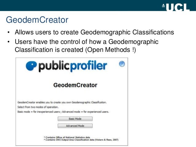 geodemographic clustering Issuu is a digital publishing platform that makes it simple to publish magazines, catalogs, newspapers, books, and more online easily share your publications and get them in front of issuu's millions of monthly readers.