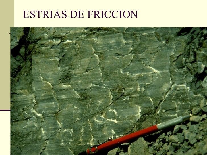 ESTRIAS DE FRICCION