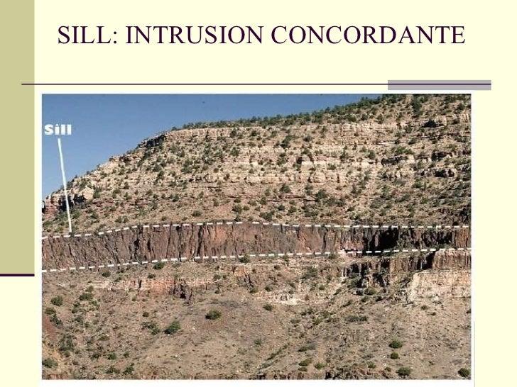 SILL: INTRUSION CONCORDANTE