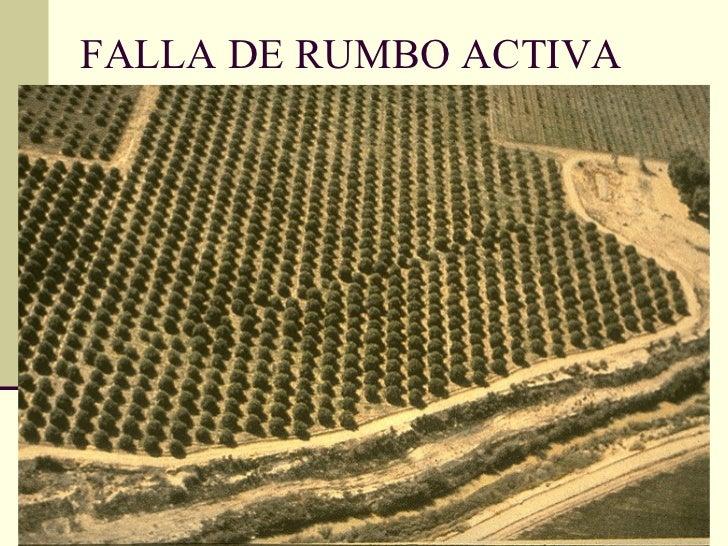 FALLA DE RUMBO ACTIVA