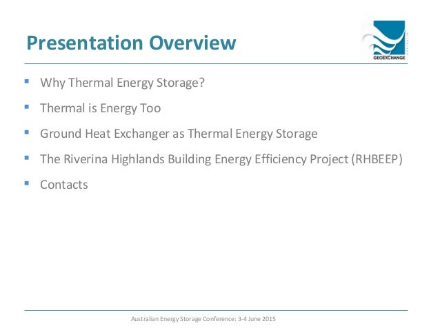 Using the Ground for Thermal Energy Storage: The Experience of the Ri…