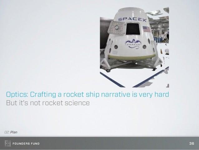 Optics: Crafting a rocket ship narrative is very hardBut it's not rocket science02: Plan                                  ...