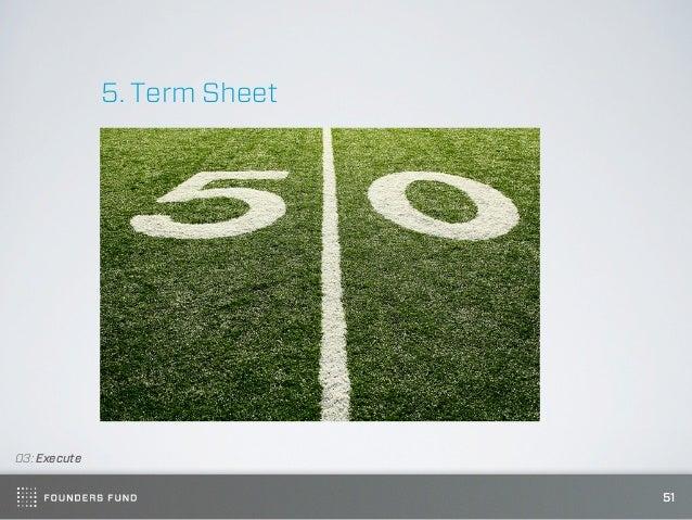 5. Term Sheet03: Execute                              51