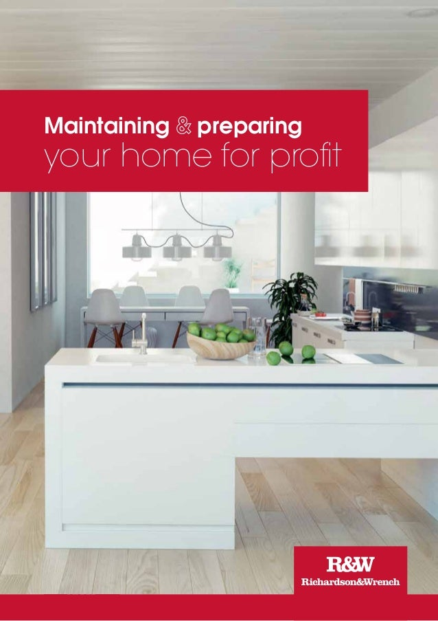 1 Maintaining preparing your home for profit