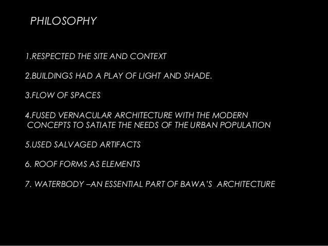 Works Of Geoffrey Bawa