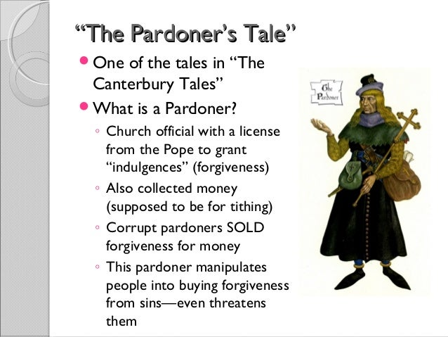 pardoners tale themes death greed The situational irony in the perdoners tale is that in the canterbury tales by the pardoner's tale death what best represents theme of the pardoner's tale.