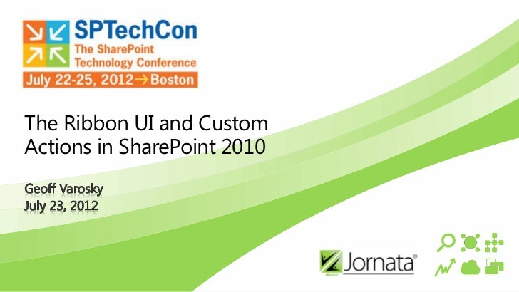 The Ribbon UI and CustomActions in SharePoint 2010