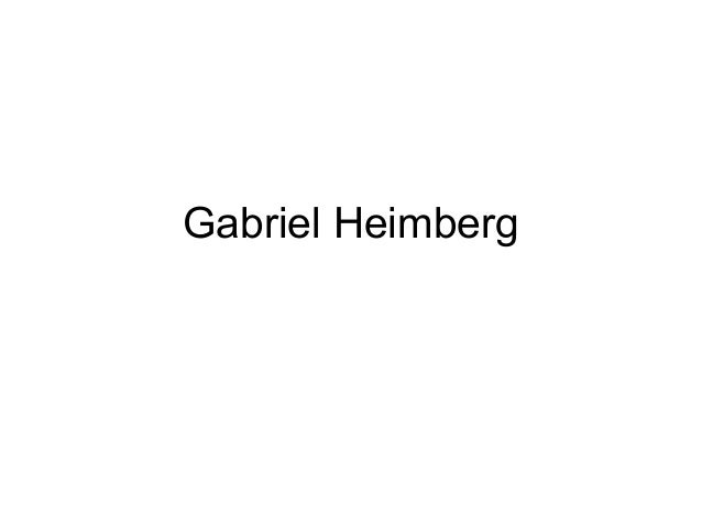 Gabriel Heimberg