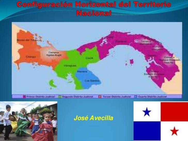 Configuración Horizontal del Territorio Nacional<br />José Avecilla<br />