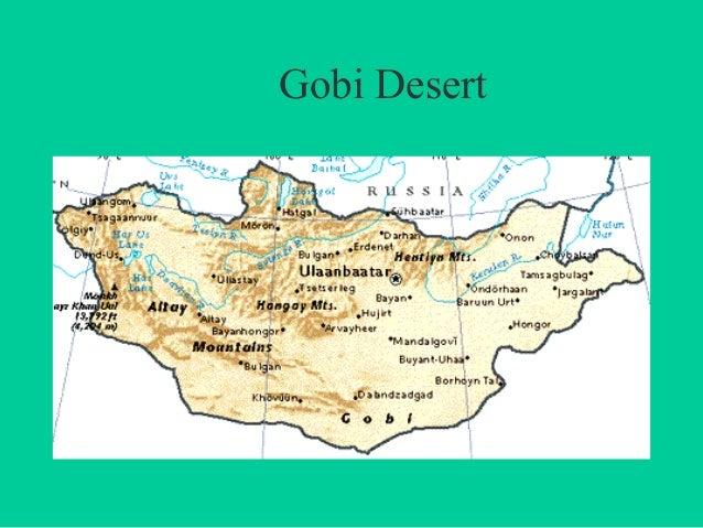 Map Of Asia Gobi Desert.Geogeaphy Of Eastern Asia 1