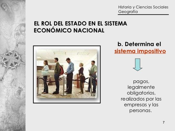 b. Determina el  sistema impositivo pagos, legalmente obligatorios, realizados por las empresas y las personas.   EL ROL D...
