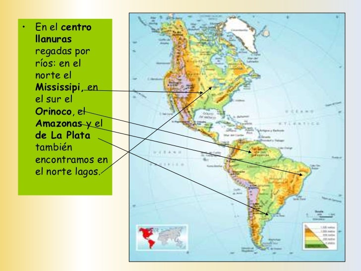 Geografa de amrica 5to bsico