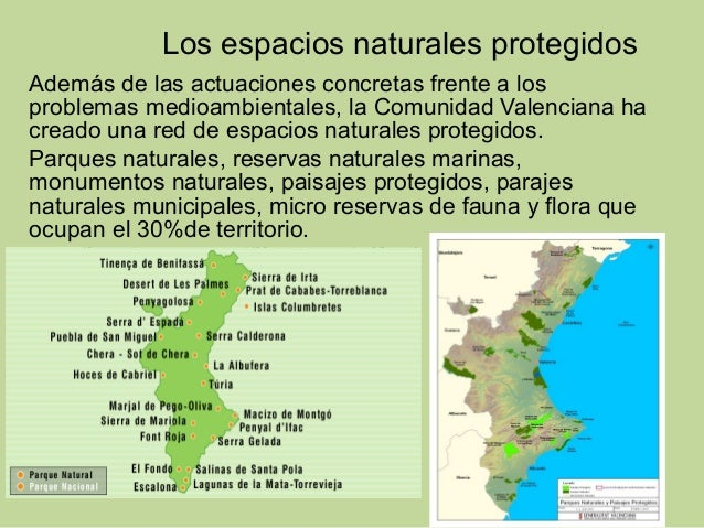 Espacios naturales protegidos de la comunidad valenciana webcam