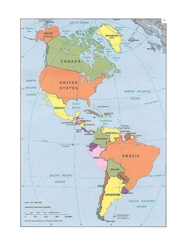Geografa del continente americano