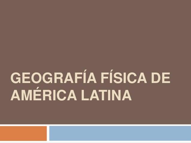 geografia de america latina fisica quantica - photo#22