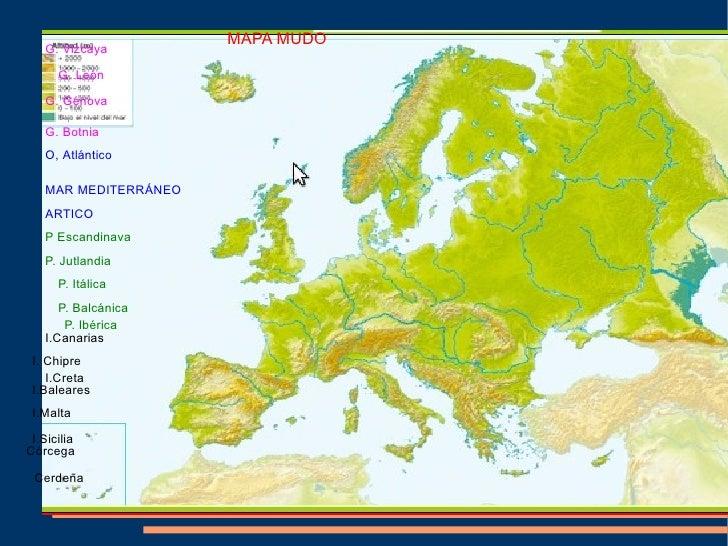 Geografia Fisica De Europa