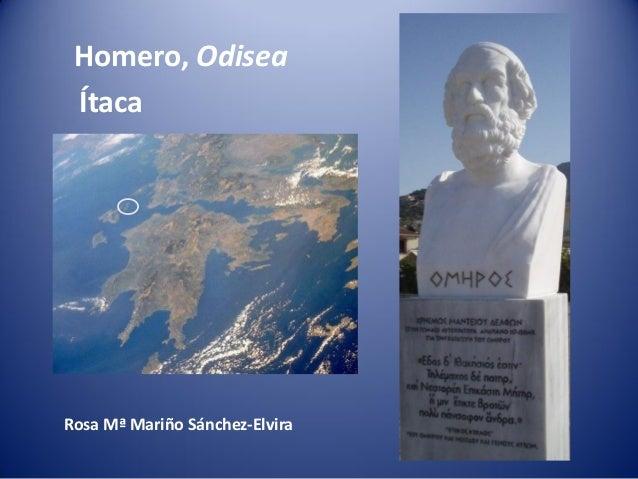 Homero, Odisea ÍtacaRosa Mª Mariño Sánchez-Elvira