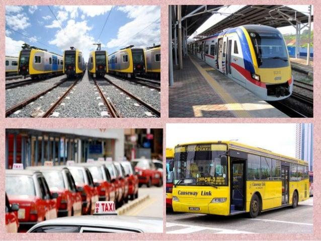 Kesan Sistem Jaringan Pengangkutan Terhadap Malaysia