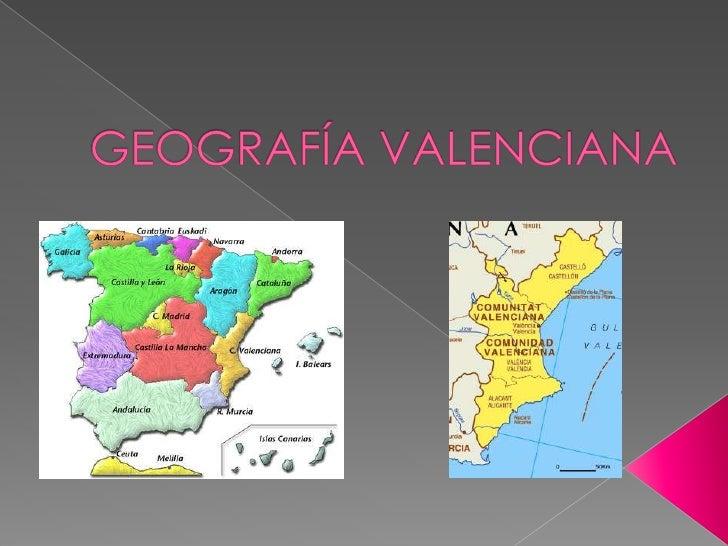 Geografia comunidad valenciana for Cabanas en los arboles comunidad valenciana