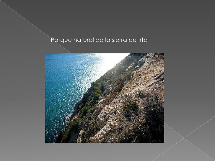 Parque natural de la sierra de Irta<br />
