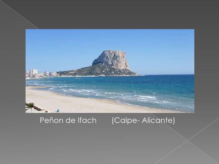 Peñon de Ifach       (Calpe- Alicante)<br />