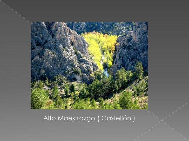 Alto Maestrazgo ( Castellón )<br />