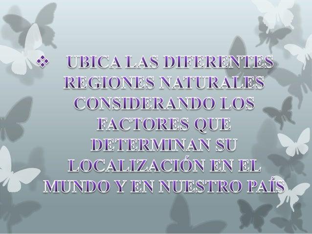 Regiones naturales Slide 2