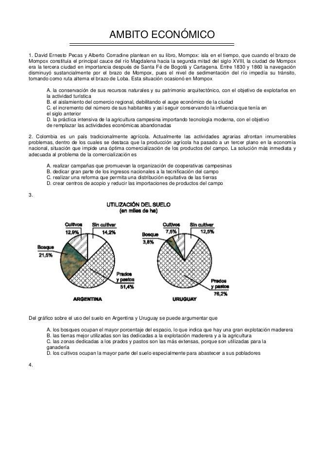 AMBITO ECONÓMICO 1. David Ernesto Pecas y Alberto Corradine plantean en su libro, Mompox: isla en el tiempo, que cuando el...