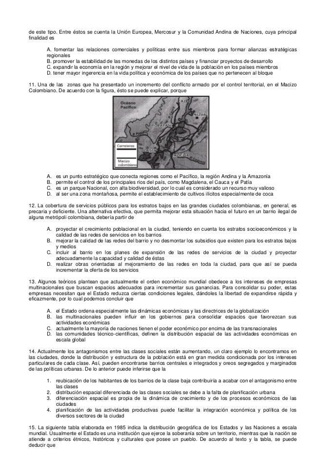 de este tipo. Entre éstos se cuenta la Unión Europea, Mercosur y la Comunidad Andina de Naciones, cuya principal finalidad...