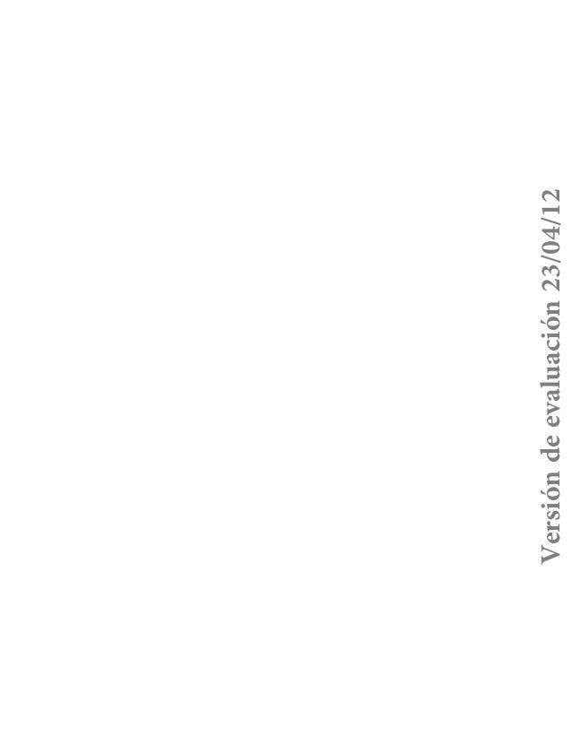 Versión de evaluación 23/04/12