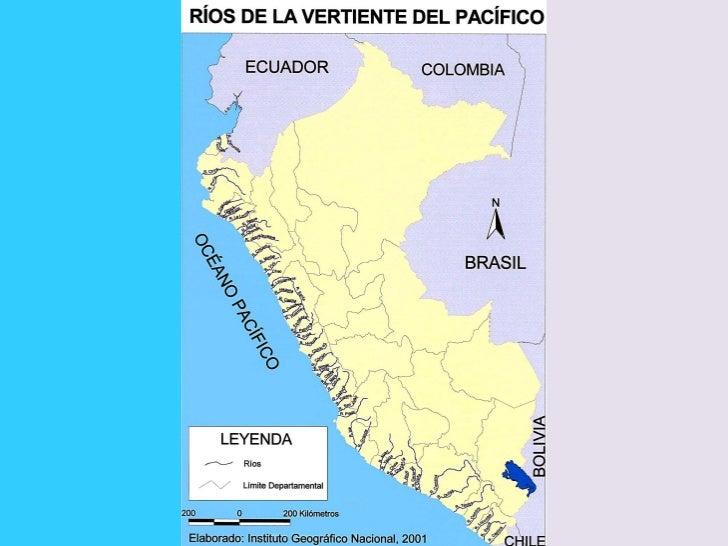 GEOGRAFIA-PERU-mapa rios vertiente pacifico