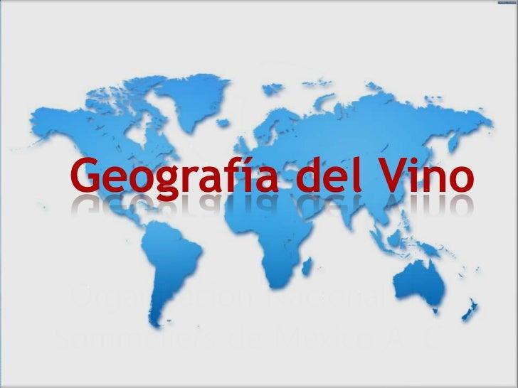 Geografía del Vino